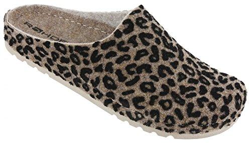 Rohde  6010 13,  Pantofole Donna Beige
