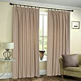 Deco Window 2 Piece Curtain Shikha Dark ...