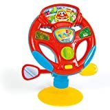 Clementoni 17241 Clementoni-17241-Baby Steering Wheel, Multi-Colour