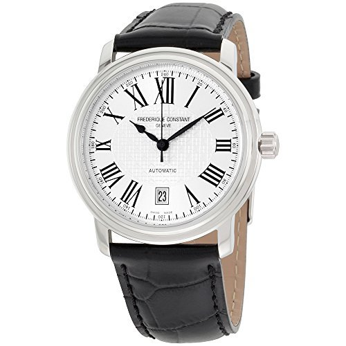 Frederique Constant Geneve Classic Automatic Steel mens strap Watch Calendar fc-303m4p6