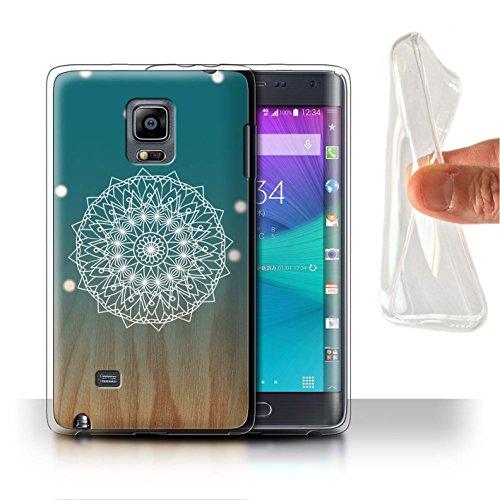 Stuff4® Gel TPU Hülle/Case für Samsung Galaxy Note Edge/N915 / Mandala/Holz Muster/Ombre Muster Kollektion -