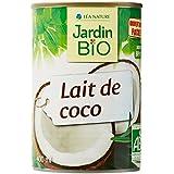 Jardin Bio Lait de Coco 400 ml - Lot de 6