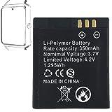 Smartwatch Batterie GT08 wiederaufladbare Lithium-Batterie mit 360MAH Kapazität