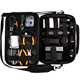 case bag (Multifunktionale elektronische Zigarette Tasche, Schwarz)