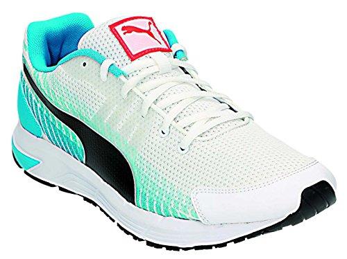Puma Sequence V2, Chaussures de course homme Blanc/noir/bleu