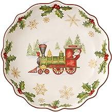 Villeroy & Boch Annual Christmas Edition 2017 Coppa Dell' Anno Piccola, Porcellana, Bianco, 16x0.1x0.1 cm
