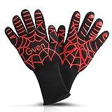 clyctip BBQ Grill Handschuhe hitzebeständig,bis zu 932 °F, 1 Paar