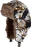 Sakkas CCH1515 - Gorro de Invierno de Camuflaje Unisex imitación Piel con Banda de Ajuste Yehuda - Nieve - One Size