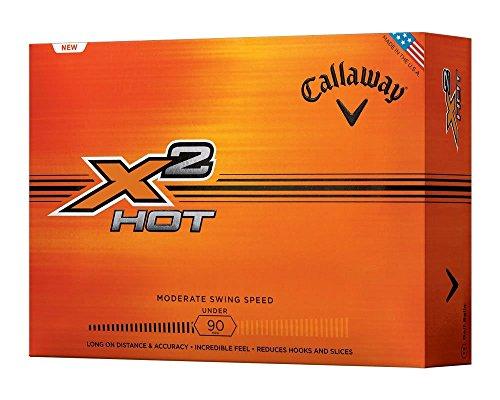 2014 Callaway X2 Hot Golf Balls - White-1 Dozen