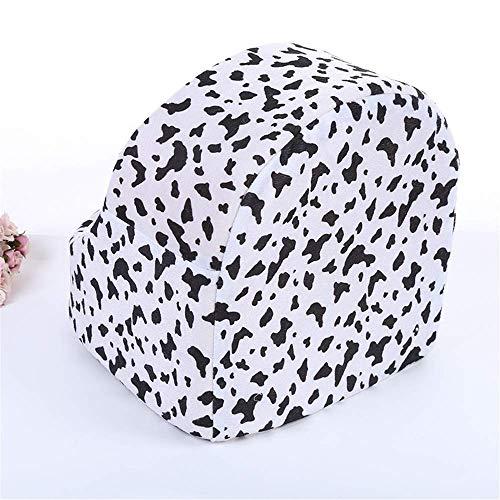 MJK Haustier Matratze Hundebett Katze Mat, Pet Nest Print Sitzkissen komfortable Zwinger Mat Milch Muster niedlichen Hundebett Hund Loch, leicht zu reinigen und tragbare Schlafmatratze (Animal-print Sitzkissen)