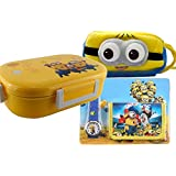 GRAPPLE DEALS Gift Hamper Set For Kid Premium Cartoon Character Printed Super Soft Multipurpose Cartoon Pouch Plus Lunch Box And With Free Gift Watch Wallet Set Attractive Designer And Stylish Perfect For Gifting Purpose Return Gift Birthday Gifts For Kid