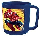 FUN HOUSE 005490Marvel Spiderman Tazza/Tazza Microonde per Bambini Polipropilene Blu 10, 5x 8, 7x 8, 2cm