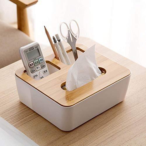 Cranky Orange Desktop Aufbewahrungsbox Fall aus Holz Tissue Box Serviettenhalter Handyhalter Kosmetik Schmuck Fernbedienung Veranstalter nach Hause (Desktop-schmuck-organizer)