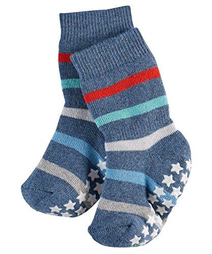 FALKE Unisex Baby Socken Multi Stripe, Light Jeans, 62-68