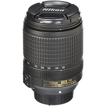 Nikon AF-S DX NIKKOR 18-140 f/3.5-5.6G ED VR: Amazon.es: Electrónica