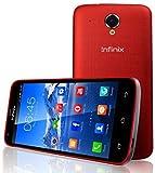 Infinix Race Jet Smartphone débloqué 4G (Ecran: 5 pouces - 8 Go - Simple SIM - Android 4.4 KitKat) Rouge
