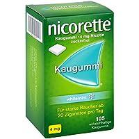 Preisvergleich für Nicorette 4mg whitemint 105 stk