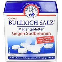 Original Bullrich Salz Tabletten | schnelle Hilfe bei Sodbrennen und säurebedingten Magenbeschwerden (180 Tabletten)