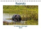 Ruanda (Tischkalender 2019 DIN A5 quer): Runda - das kleine Land im Herzen Afrikas (Monatskalender, 14 Seiten ) (CALVENDO Orte)
