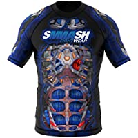 Rashguard SMMASH SKULL FIGHT MACHINE ELECTRIC MMA BJJ UFC S M L XL XXL XXXL (L)