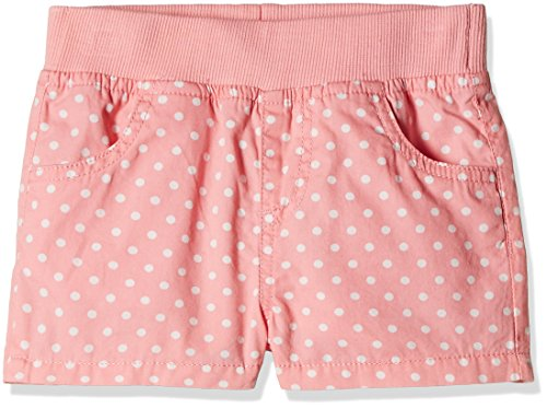Fox Baby Girls' Shorts  (Jeans and Pink_18-24 months_319570)