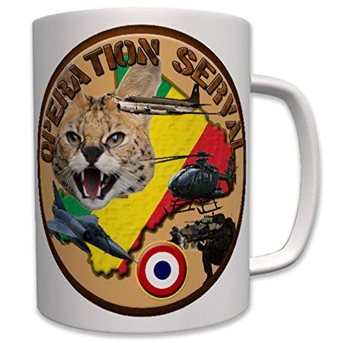 Opération Serval France Armée Française Mali malische Armée Wild chat – Tasse café # 6951
