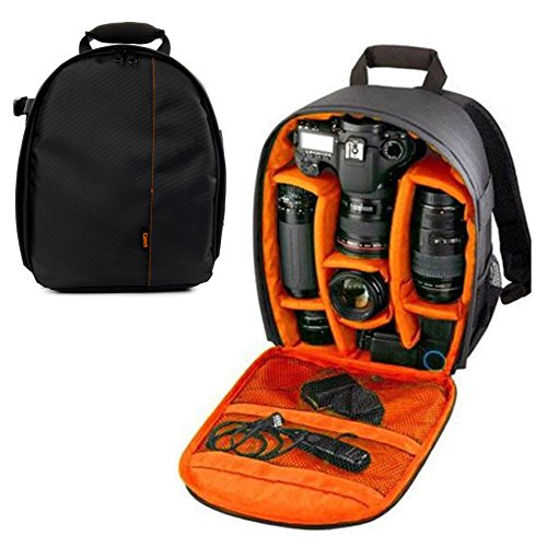 e8d65e534b15 Yaetek Camera Backpack DSLR SLR Camera Bag Video Padded Backpack Shoulder  Bag Wa