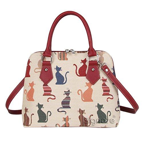Fashion Review Signare Lot sac à main et sacs bandoulière Cheeky Cat (Converitble)