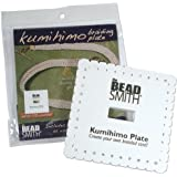 """Kumihimo 5-1/2"""" Square Plate with English Instructions"""