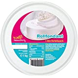 Rollfondant Weiß 1 Kg inkl. Vorratsdose