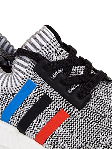 Adidas Originals Bb2887 Nmd Prime Knit Black Red White Grau