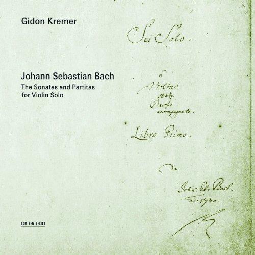 J.S. Bach: Sonata for Violin Solo No.1 in G minor, BWV 1001 - 4. Presto