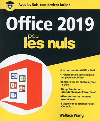 Office 2019 pour les Nuls, grand format (French Edition)