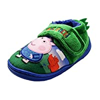 Boys George Pig Slippers