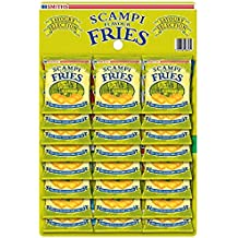 Smiths Savoury Snacks Scampi Fries Carded Pub Favourites Snacks, 27 g (Pack of 24)