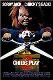 Posterlounge Leinwandbild 120 x 180 cm: Chucky 2 - fertiges Wandbild, Bild auf Keilrahmen, Fertigbild auf Echter Leinwand, Leinwanddruck