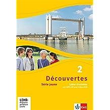 Découvertes 2. Série jaune: Cahier d'activités mit MP3-CD und Video-DVD 2. Lernjahr (Découvertes. Série jaune (ab Klasse 6). Ausgabe ab 2012)
