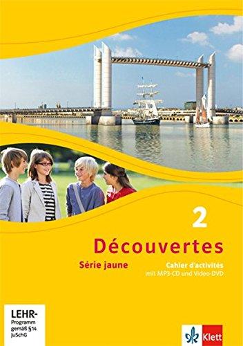 Découvertes 2. Série jaune: Cahier d'activités mit MP3-CD und Video-DVD 2. Lernjahr (Découvertes. Série jaune (ab Klasse 6). Ausgabe ab 2012) (Französisch Lernen Mit Mp3)