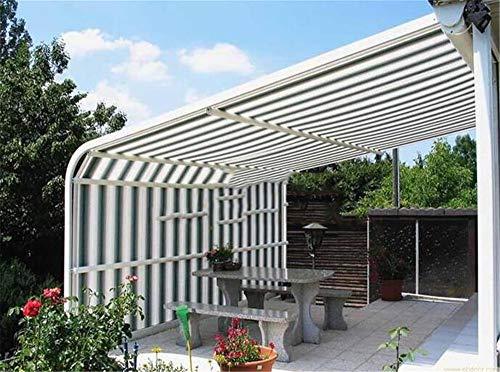 zhangchao Perfect Sunblock Shade Cloth Mit Ösen 90% UV Für Pflanzendecke Gewächshaus Scheune Zwinger Pool Pergola Oder Schwimmbad,4×4m