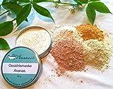 Gesichtsmaske Ananas - bei fettiger Haut, die zu Unreinheiten neigt, ohne Palmöl und Konservierungsstoffe, Gesichtsmaske aus natürlichen Heilerden von kleine Auszeit Manufaktur