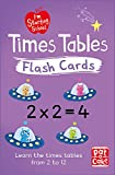 Times Tables Flash Cards: Essential flash cards for times tables from 1 to 12