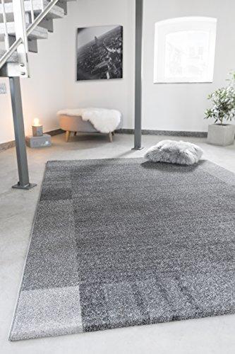 Andiamo Webteppich Le Havre Bordüre Modern Kurzflor-Teppich