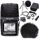 Zoom H2N Enregistreur portable H2Next + APH-2Set d'accessoires + Protection anti-vent keepdrum wsbk