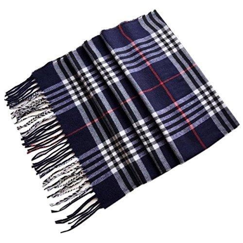 New Product Large Square Plaid Shawl 2017 Winter Warm Women Cashmere Scarf oversize pashmina 180x33cm & 30 Type Colors Scarf Warps Wholesale