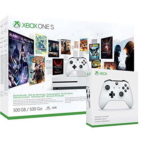 Pack Xbox One S 500Go 3M Game Pass + 3M LIVE + Deuxième manette