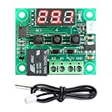#5: Thinklets™ W1209 -50°C to 110°C Digital Temperature Controller 12V Thermostat Temperature Control Switch Plate