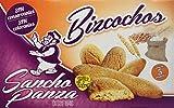 Sancho Panza - Bizcochos - Sin conservantes ni colorantes - 5 paquetes - [Pack de 4]