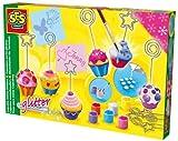 SES Creative - Soporte para notas de cupcakes, multicolor (14525)