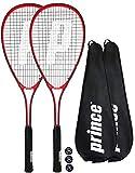 Set da squash, con due racchette e tre palline