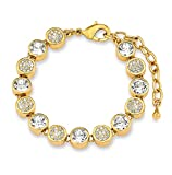 Noelani Damen-Armband längenverstellbar veredelt mit Swarovski Kristallen